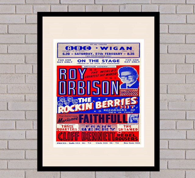 Roy Orbison - Wigan 27th February