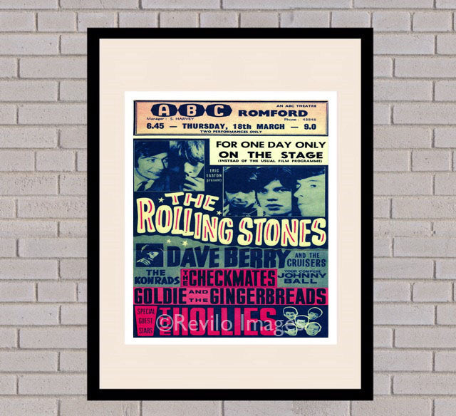 The Rolling Stones - Romford 18th March