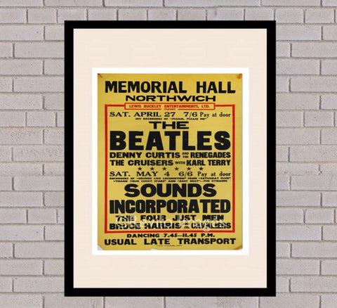 The Beatles - Northwich, Cheshire 27th April