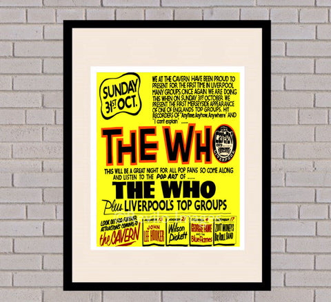The Who - Cavern Club, Liverpool 31st October