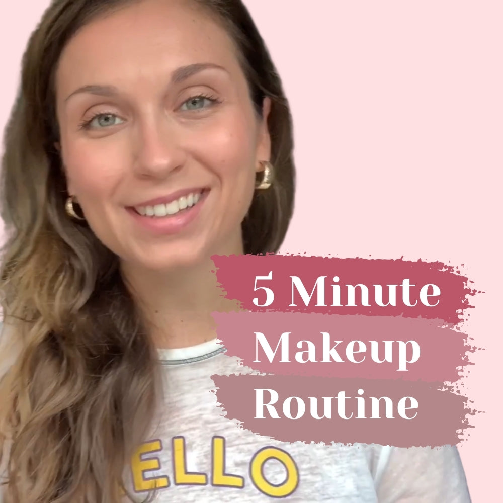 5 Minute Makeup: A Minimal Look