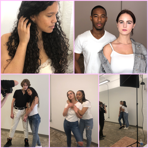 Subtl beauty behind the scenes photoshoot
