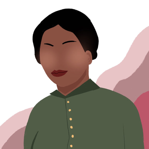 An illustration of what Harriet Tubman would look like today.