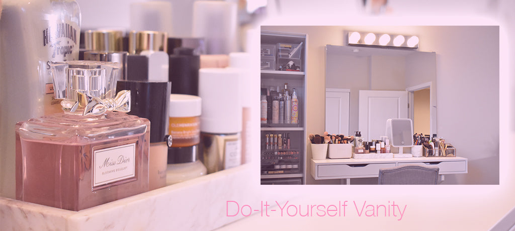 How to make your own DIY Makeup Vanity