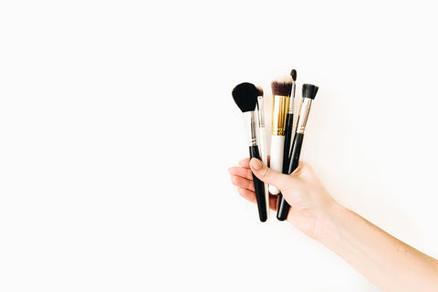 Wash and clean your makeup brushes