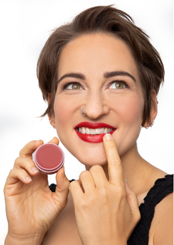 Hydrate your lips before reapplying your lip shade