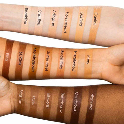 Subtl Beauty Stackable Makeup Starter Stack Arm Swatches To Find Your Concealer Shade