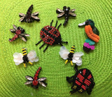 Sequin, Bead & Crystal Insects