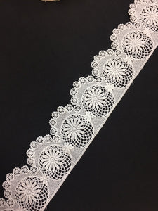 Lace Trim 17 - Circle of Flowers Edging - AU