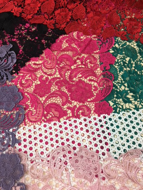 Guipure Lace - London
