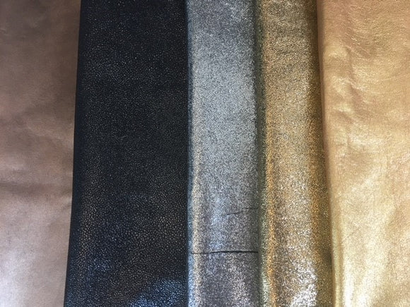 Metallic Nappa Leather Skins - US