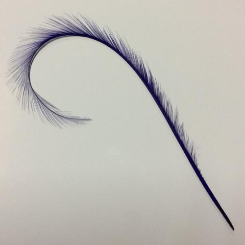 Curly Burnt Pheasant Feathers - US