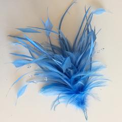 Pale Blue Feather Mounts (0422) - US