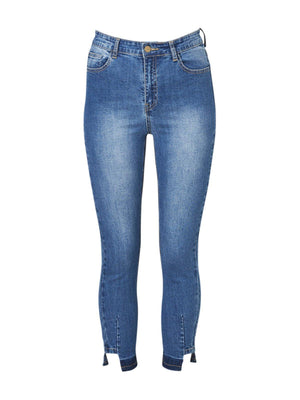 CONCHITA PLEAT CUT LEGGING JEAN-Jeans-CONCHITA-ENNI