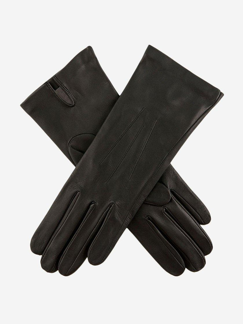 DENTS FELICITY SILK LINED LEATHER GLOVES