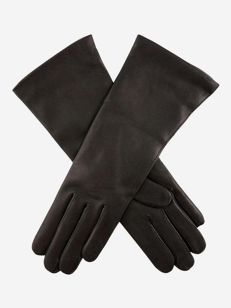 DENTS HELENE CASHMERE LINED LONG LEATHER GLOVES