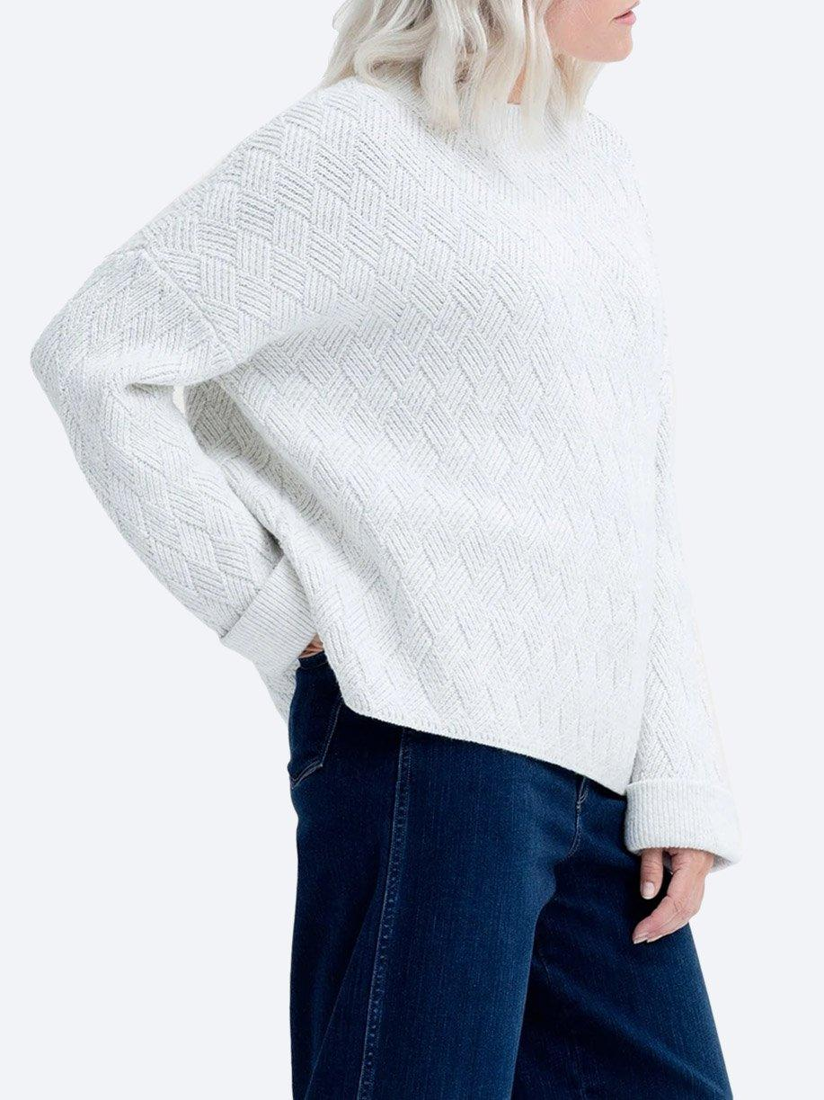 ELK BODEN SWEATER - COTTON/MERINO/SILK