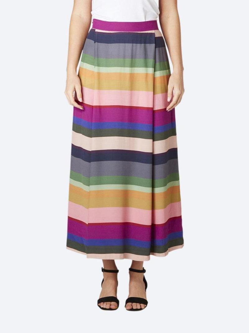 ELK STRIPE LYSBRO SKIRT