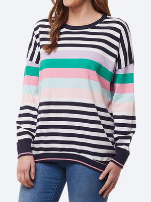 ELM PASSION STRIPE KNIT