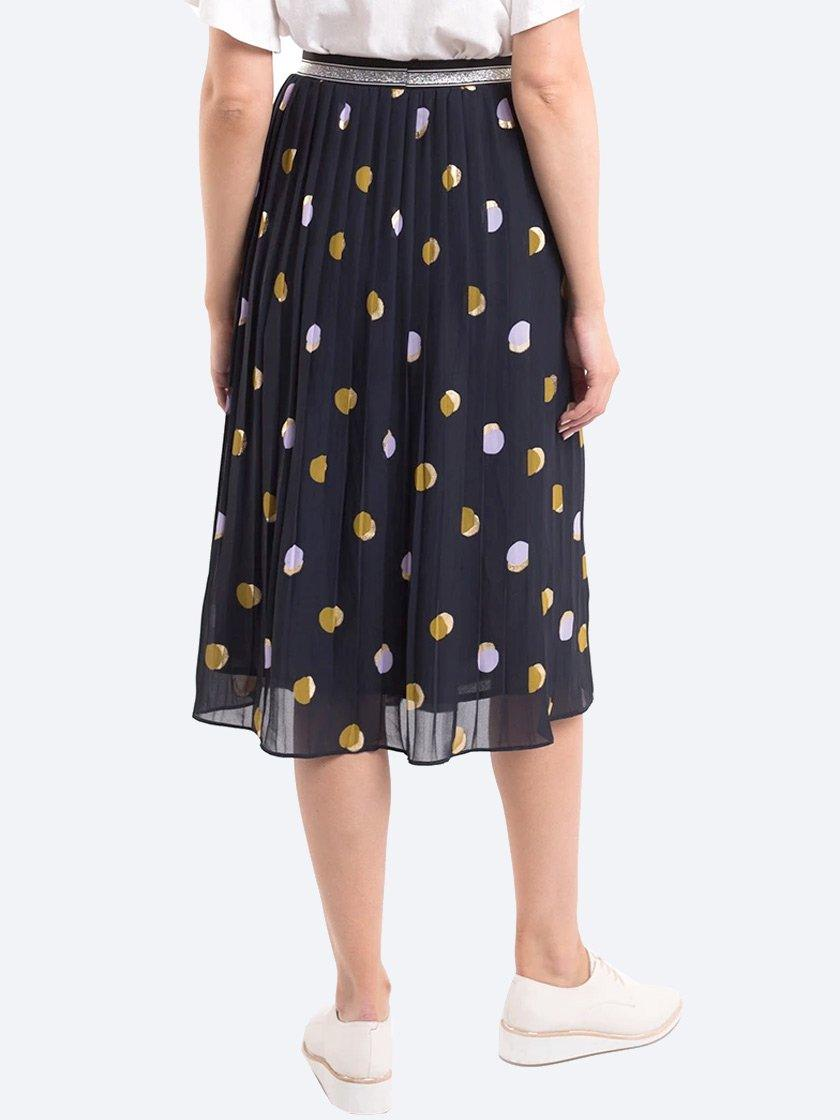 ELM SPOT SOFT PLEAT SKIRT