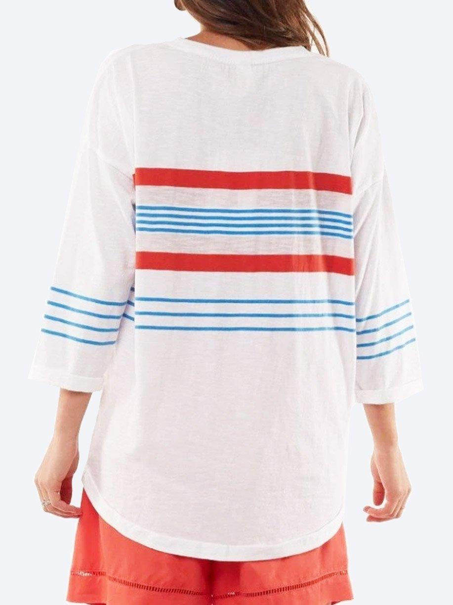 ELM SOMMER COTTON CREW TOP