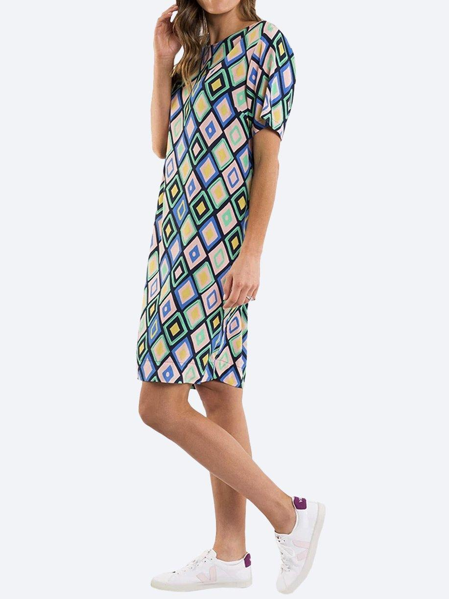 ELM PRISM SHIFT DRESS