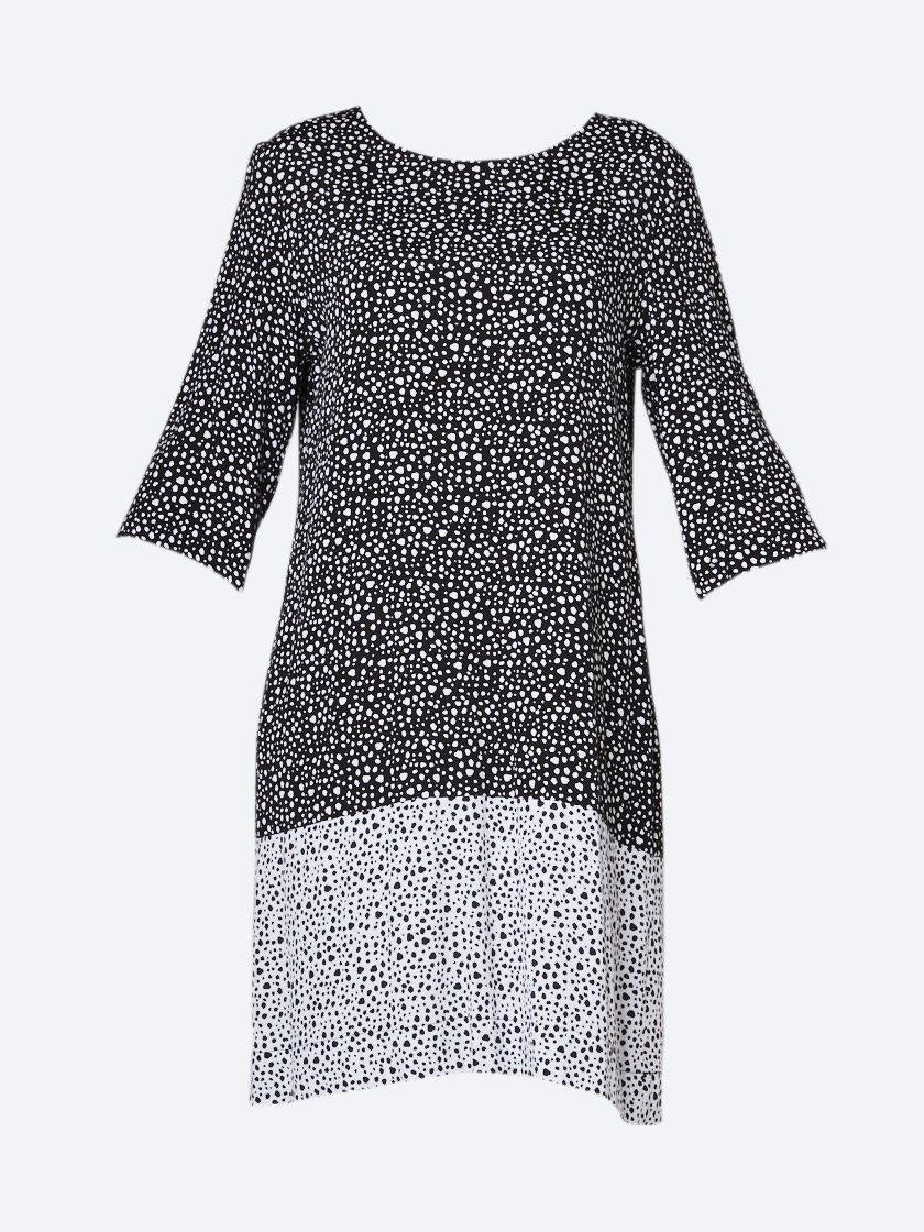 Yeltuor - ELM - Dresses - ELM MOTTLE SPOT DRESS -  -