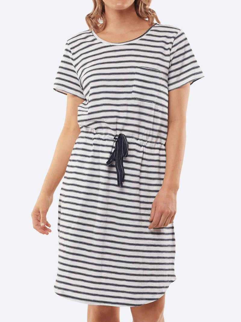 ELM HILDA STRIPED DRESS