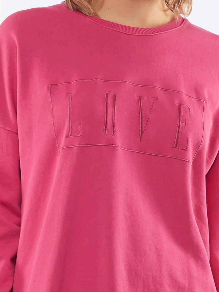 ELM LOVE CREW SWEATSHIRT