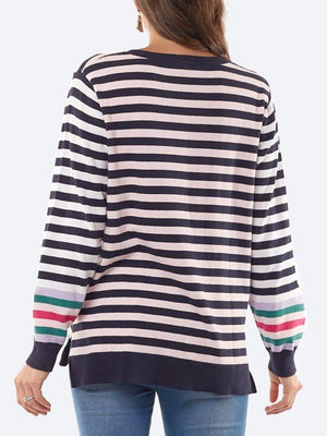 Yeltuor - ELM - Knitwear - ELM TAILOR COTTON STRIPE KNIT -  -