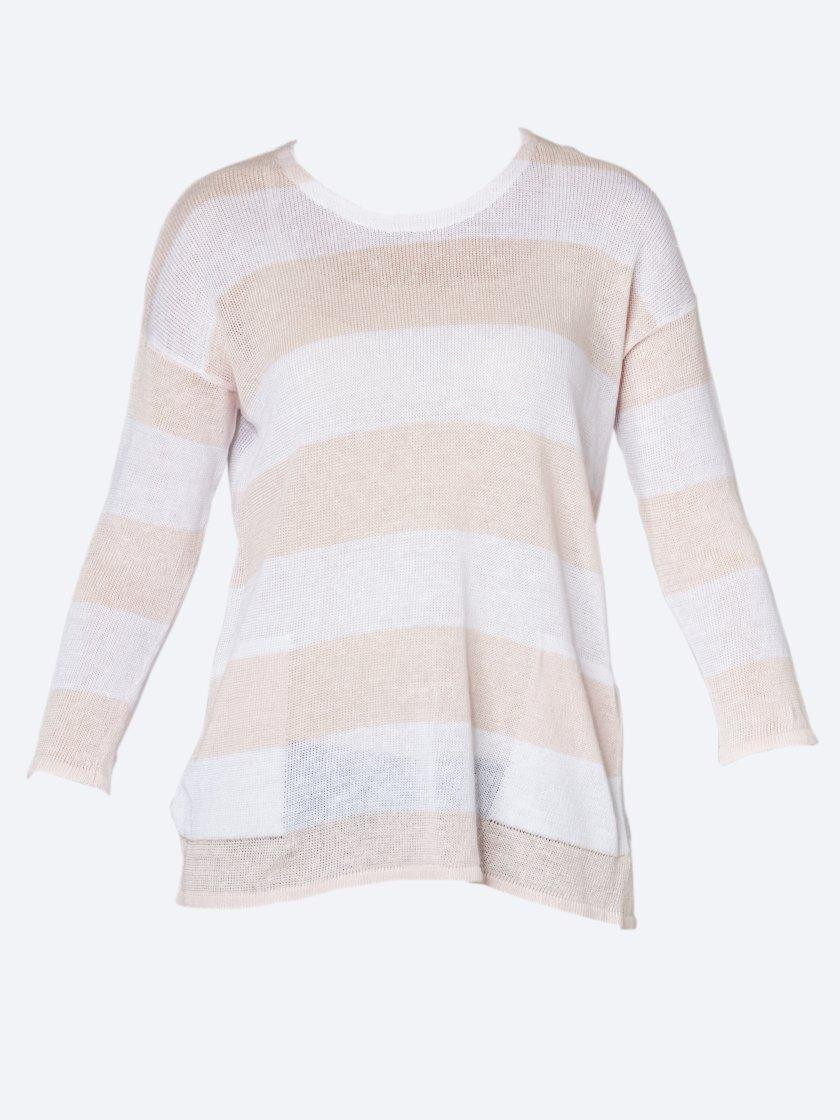 JUMP STRIPE LINEN KNIT