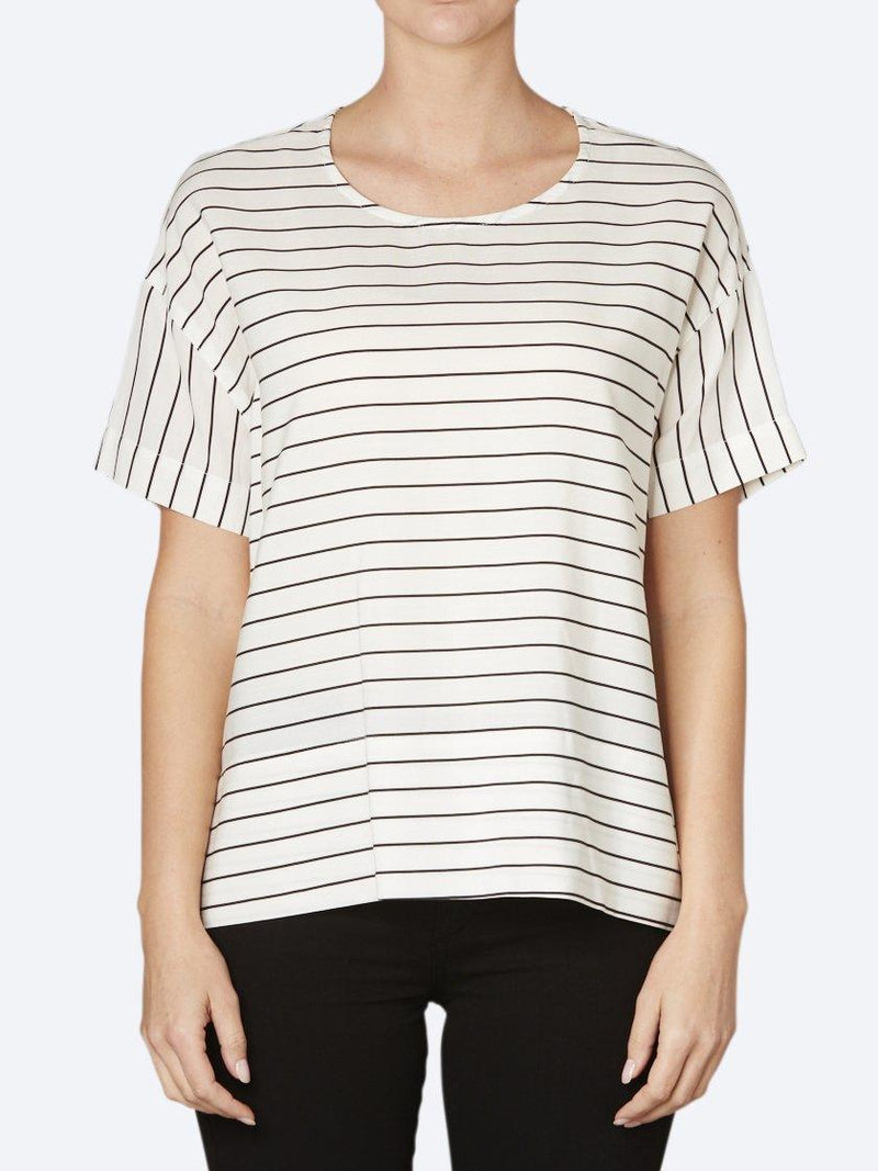 JUMP STRIPE LYCELL TOP