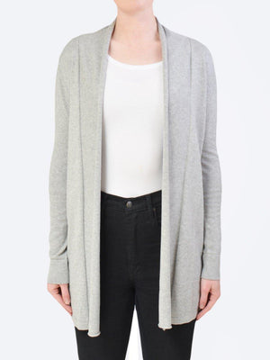 JAMES MELBOURNE LONG LINE COTTON CARDIGAN