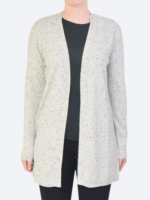 JAMES MELBOURNE LONGLINE RIB CARDIGAN