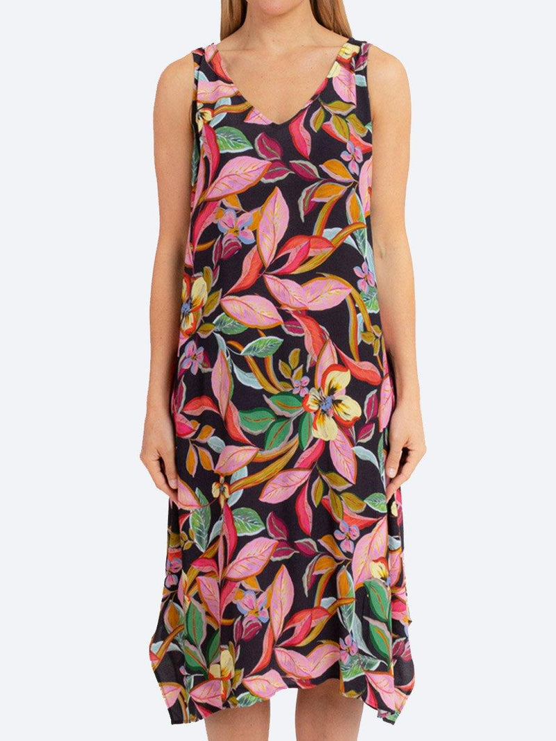 JUMP JUNGLE SLEEVELESS DRESS