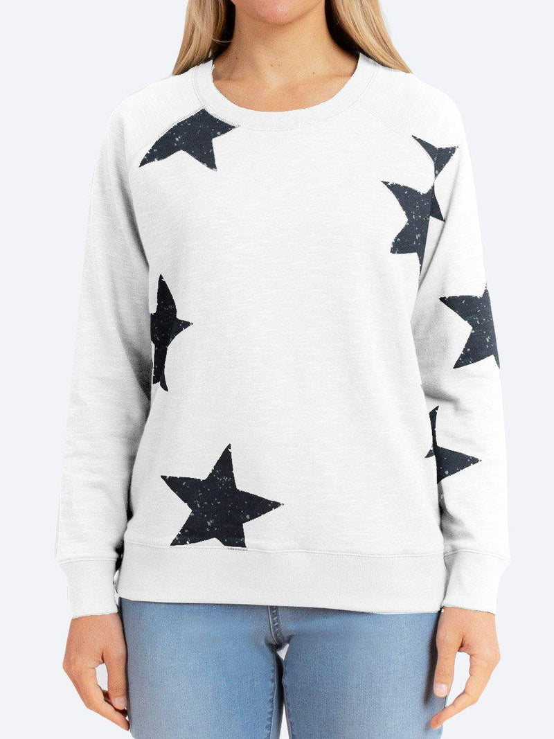 JUMP COTTON STAR SWEATER