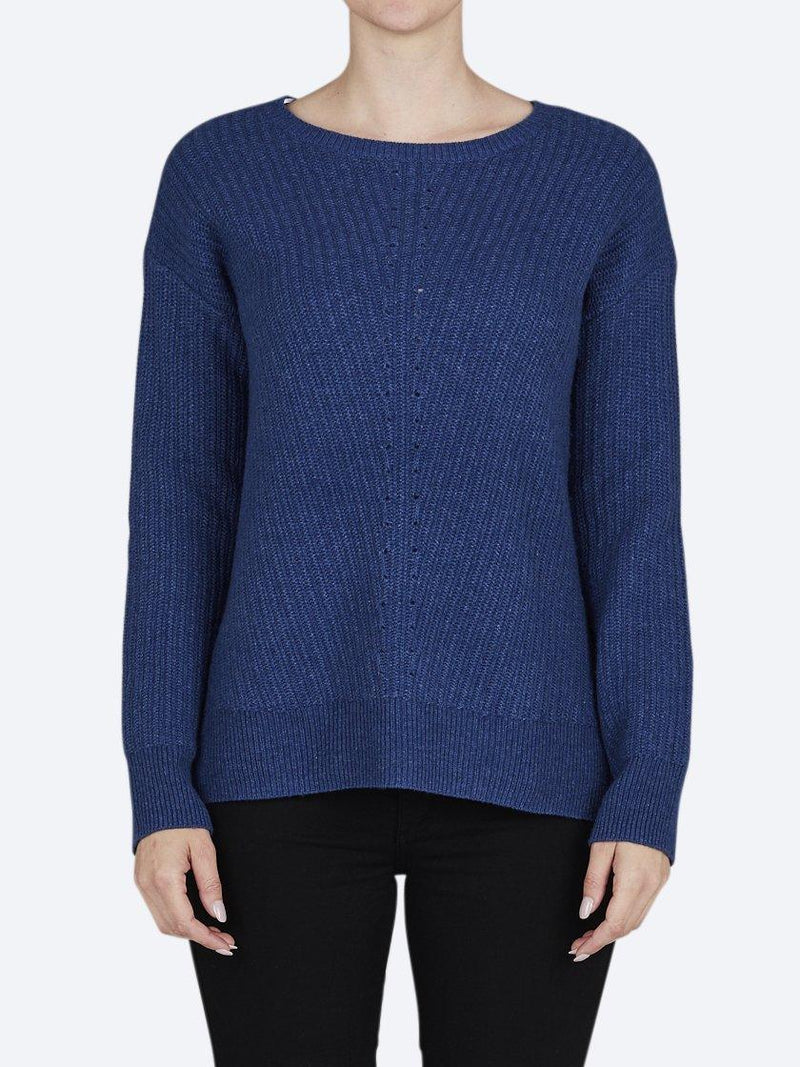 JUMP SHAKER STITCH PULLOVER