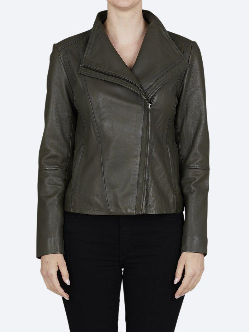 JUMP LEATHER JACKET