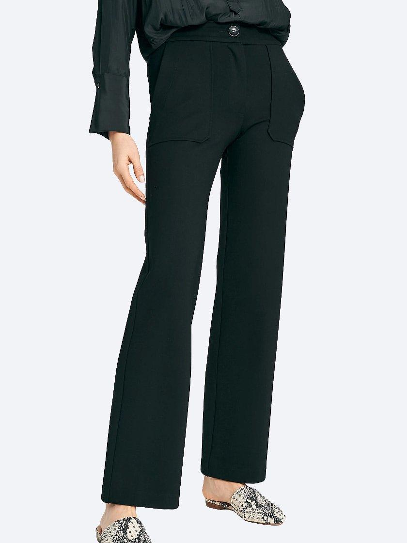 Yeltuor - LAYER'D - Pants - LAYER'D PONTE WIDE LEG PANT -  -
