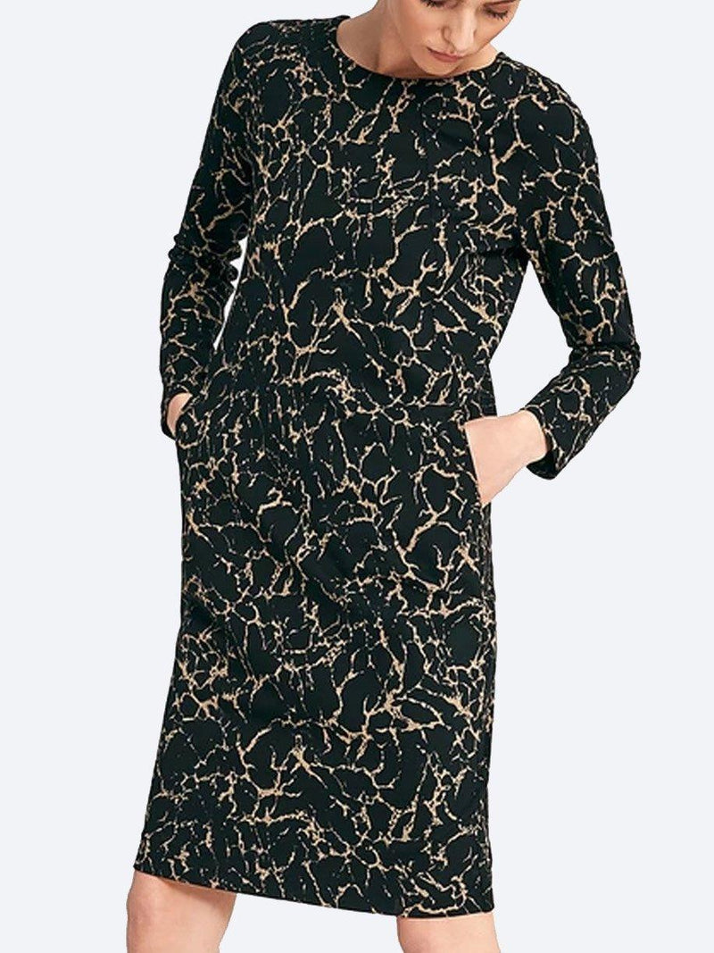 LAYER'D PRINT VIKT DRESS