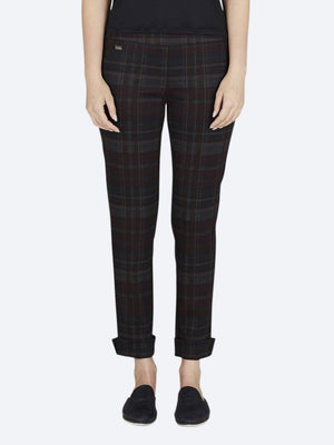 LISETTE IBIZA PLAID ANKLE WITH CUFF