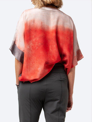 LOUNGE AVOLA SILK TOP