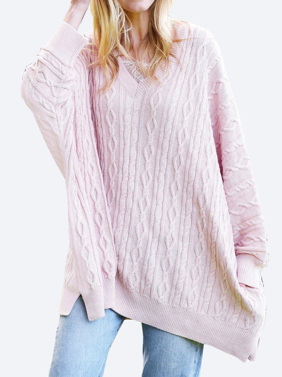 M.A DAINTY SIGNAL COTTON KNIT