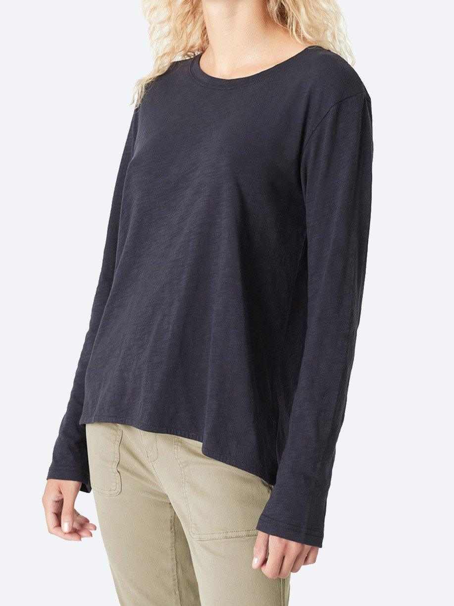GAYLE LONG SLEEVE COTTON TEE