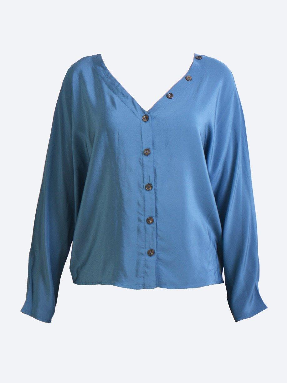 M.A. DAINTY FENDER SILK TOP