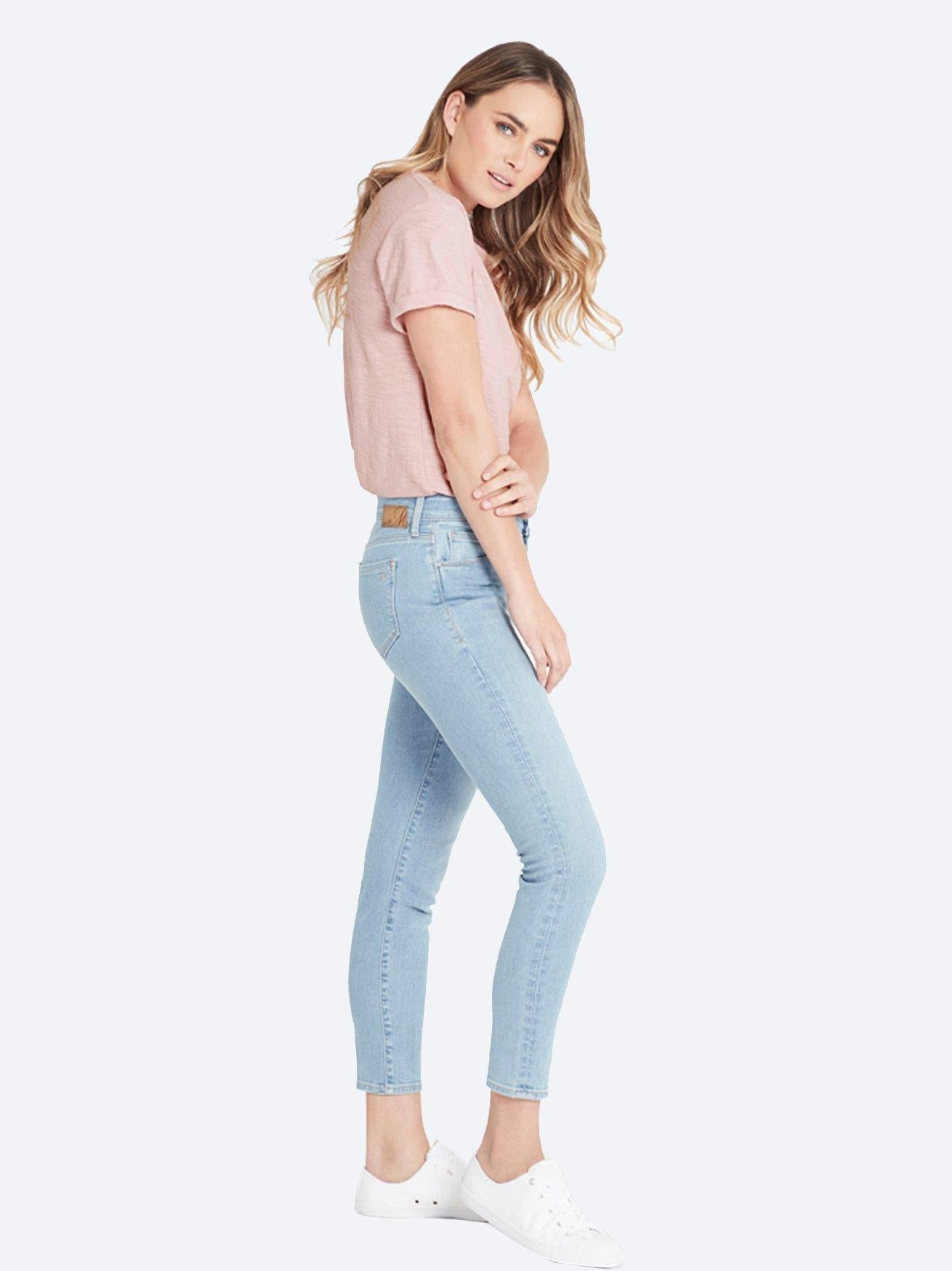 MAVI ALISSA ANKLE JEAN LIGHT BLUE 90'S STRETCH