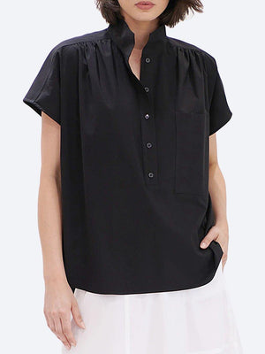 MELA PURDIE VOLUME SHELL SHIRT - MICROPRENE