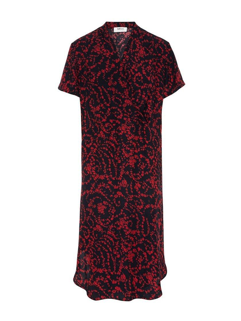 MELA PURDIE WRAP TULIP DRESS-Dresses-MELA PURDIE-ENNI