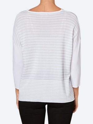PING PONG LUREX STRIPE KNIT