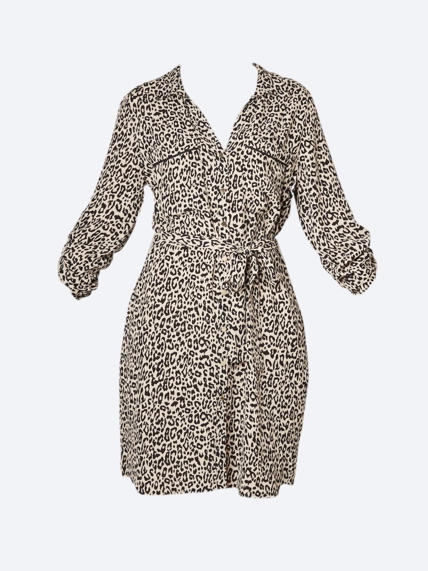 PING PONG ANIMAL PRINT DRESS